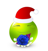 Christmas Smiley Icon 21
