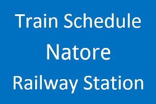 Natore station train schedule