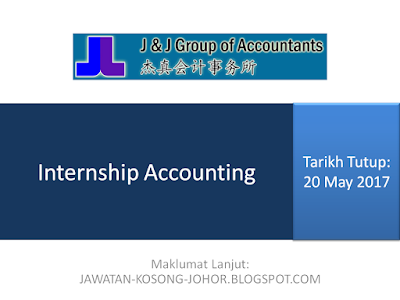Jawatan Kosong di J & J Corporate Services Sdn Bhd