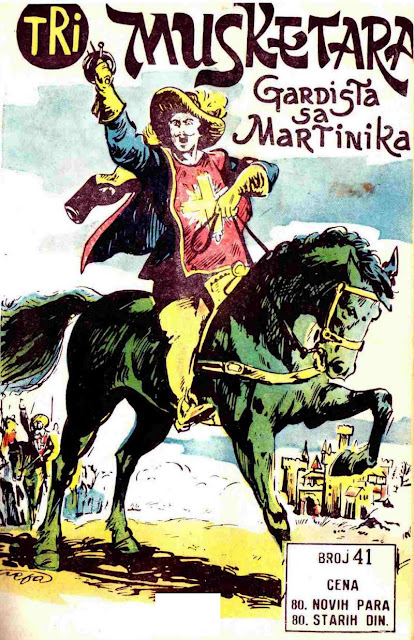 Gardista sa Martinika - Tri Musketara