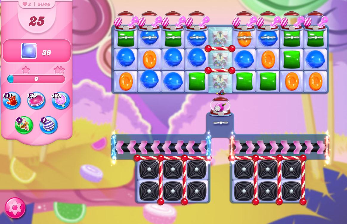 Candy Crush Saga level 5646