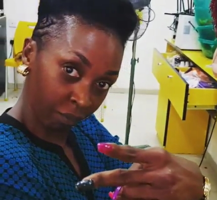 kate henshaw yellow sisi hair salon
