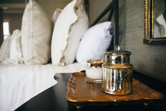 decor bedroom bedside canister
