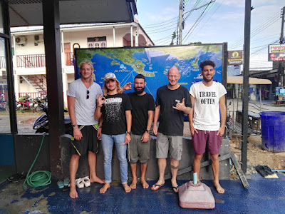 PADI IDC for January 2018 on Koh Lanta, Thailand has started