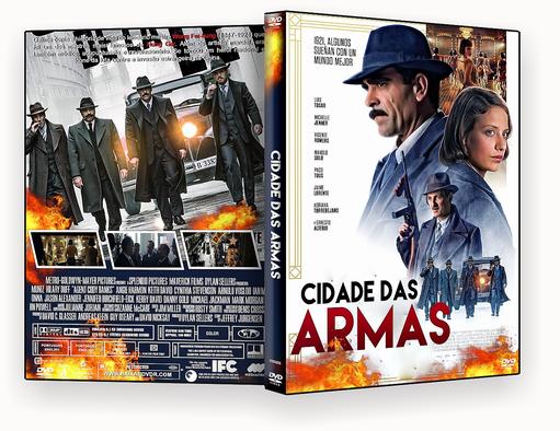 CAPA DVD – CIDADE DAS ARMAS 2018 – ISO