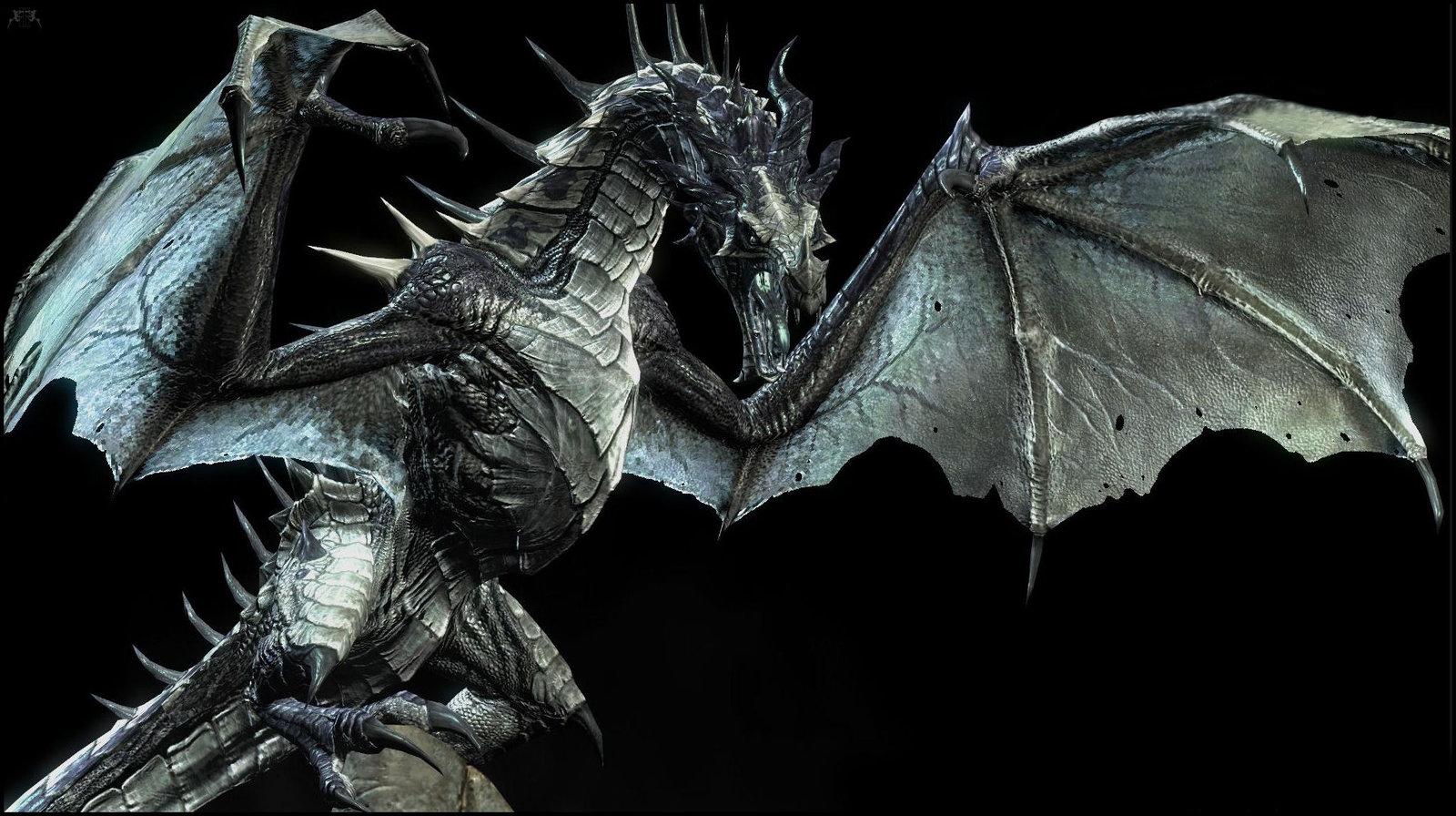 Skyrim Dragon: Barefoot And Oblivious: Dragon