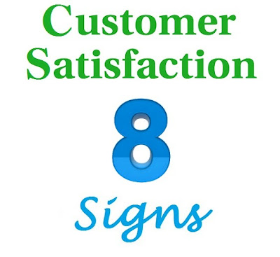 Signs of Customer Satisfaction