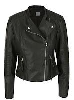 Jachetă kaki Vero Moda Marina din piele ecologică