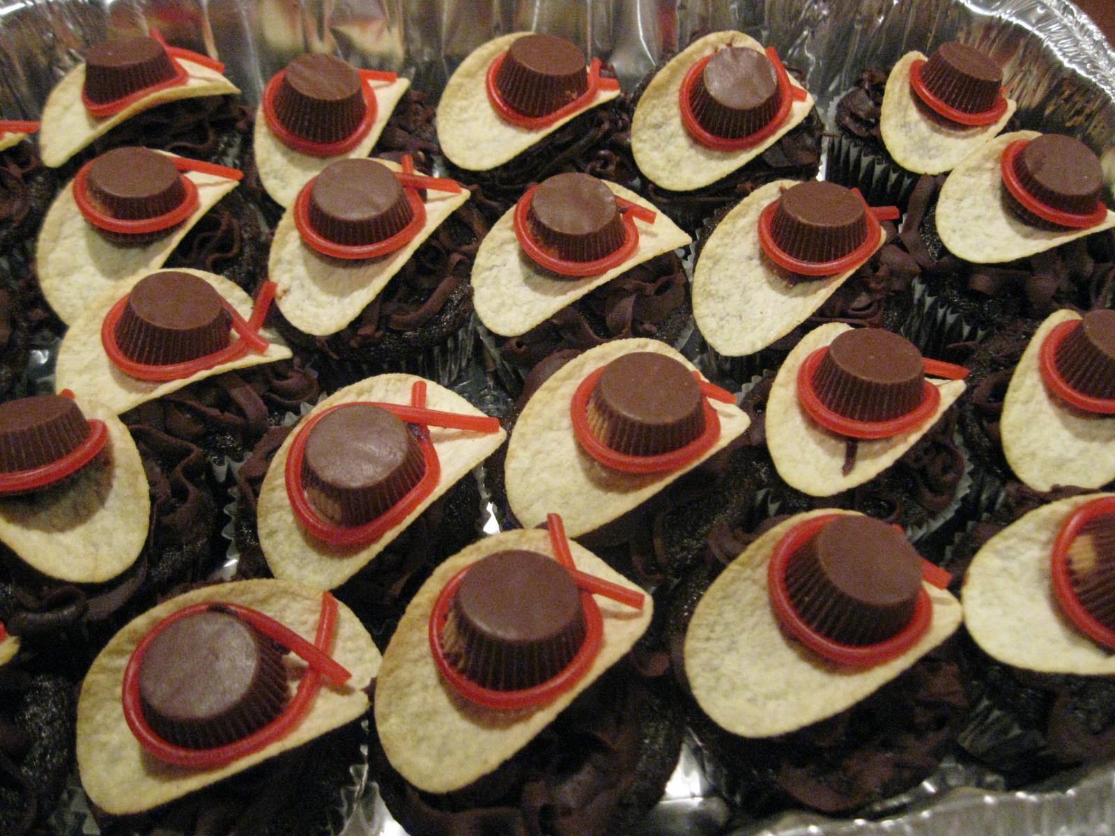 Cake It From Me Cowboy cupcakes
