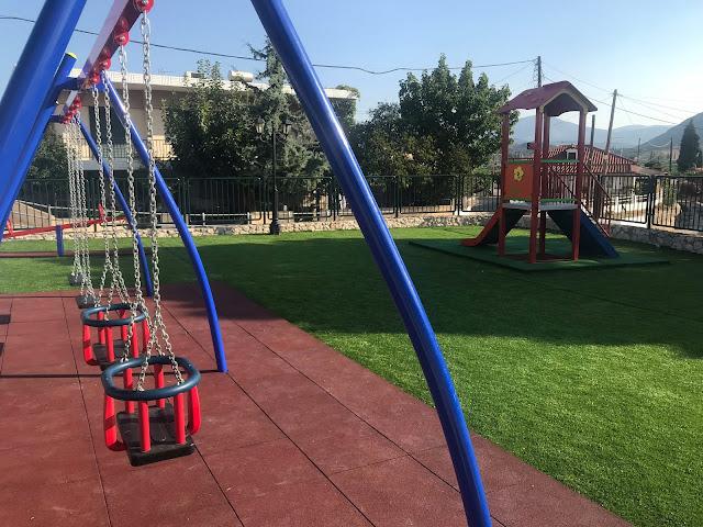 Δ.Κωστούρος: Η Παιδική χαρά της Ασίνης και το γηπεδάκι της είναι σημεία που δείχνουν σεβασμό στα παιδιά μας
