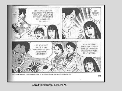 Nakazawa, Keiji. Gen d'Hiroshima, t.10, p.174 © Vertige Graphic.