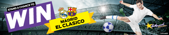 Stand a chance to win a trip to Madrid to watch El Clasico LIVE with Hollywoodbets