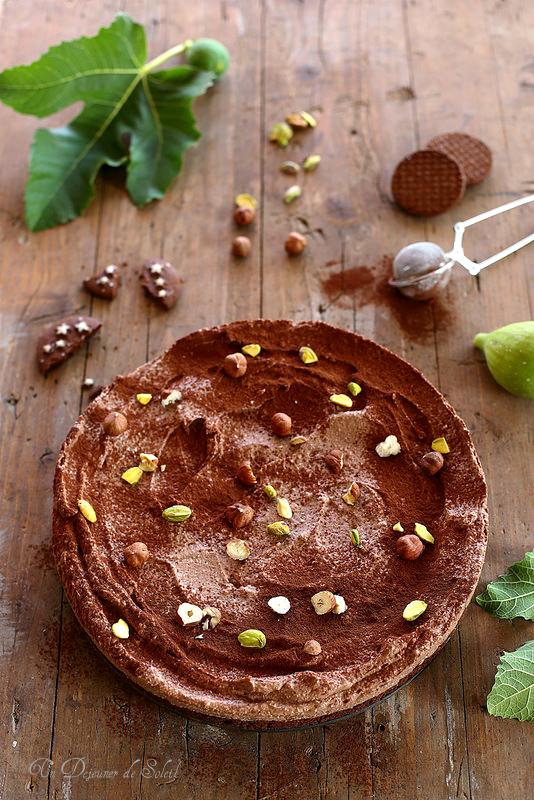 Cheesecake ricotta et chocolat (sans cuisson)