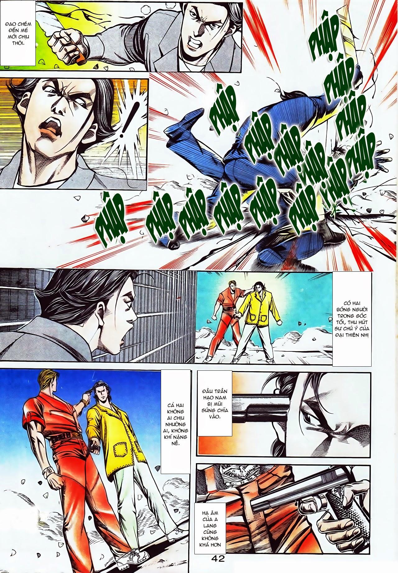 Người Trong Giang Hồ chapter 116: bình minh ló dạng ái tình tan vỡ trang 6