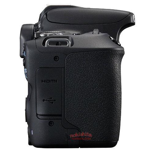 Canon EOS 200D, вид справа