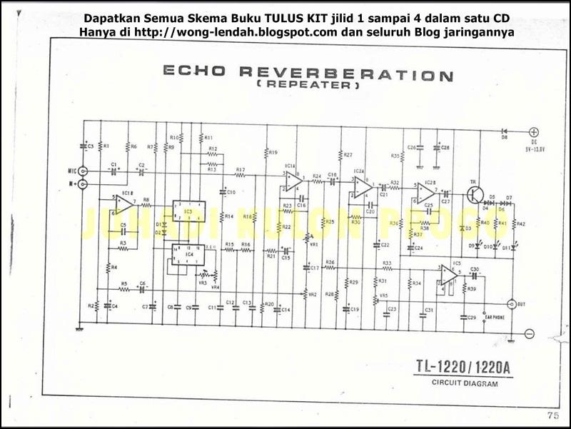 echo repeater tl 1220 1220a kumpulan skema elektronika Phan Mem Echo Mic Phan Mem Echo Mic
