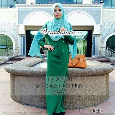 Borong Neelofa Exclusive Dress , borong Neelofa Dress , borong Neelofa Exclusive Dress murah,