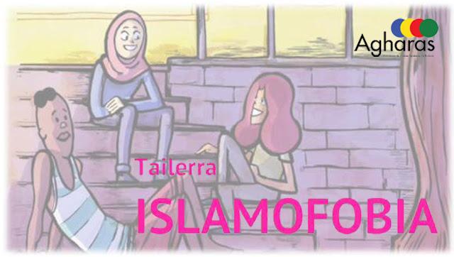 Cartel del taller de islamofobia