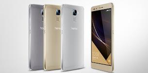 Bocoran Tampilan Huawei Honor 7C