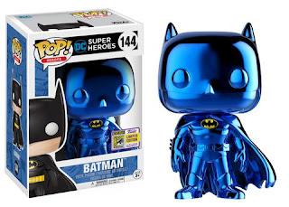 Pop! Heroes: Blue Chrome Batman (Toy Tokyo).