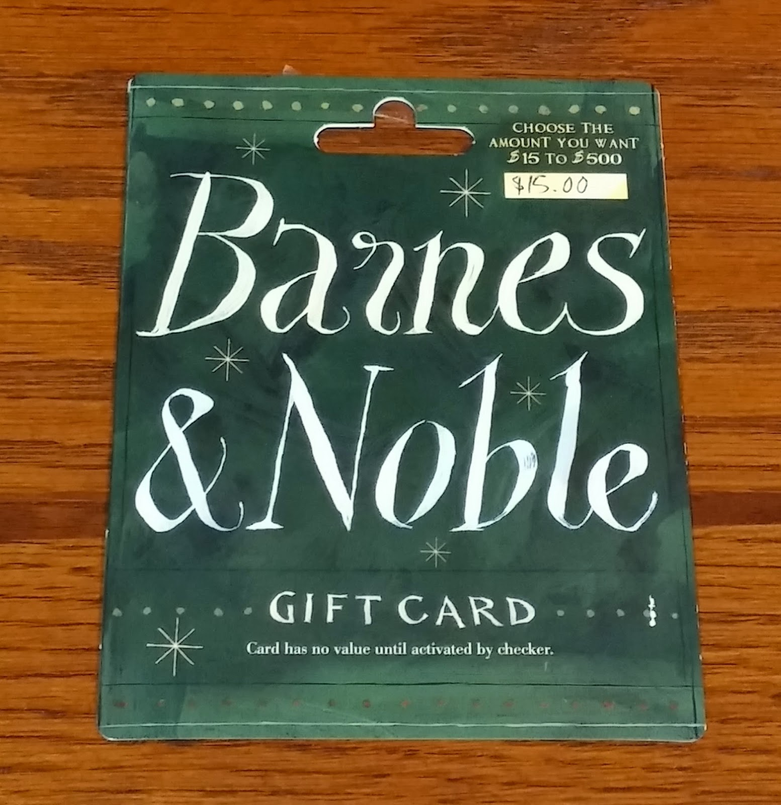 Confessions Of A Frugal Mind: Enter To Win A Barnes