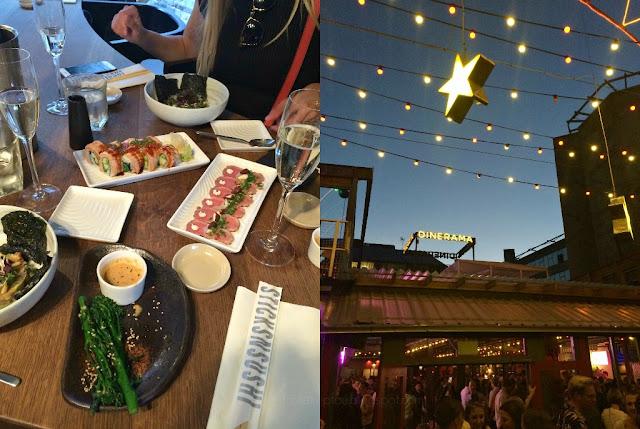 Mittwochs mag ich, London, Sticksnsushi, Dinerama streetfood east london shoreditch, Ausgehtipps Wochenendtipps London, Kurztrip
