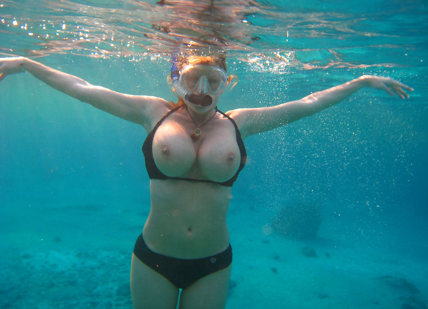 For Sexy swimmer girl naked and alone opinion you