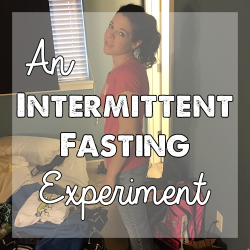 Starting a 30-Day intermittent fasting experiment