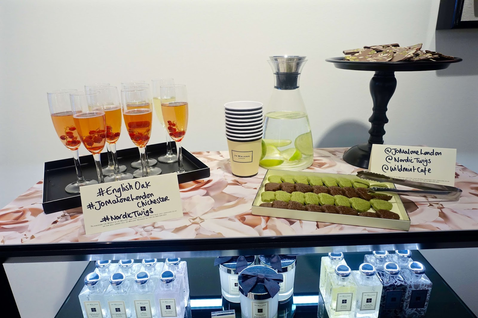 Blogger event at Jo Malone in Chichester