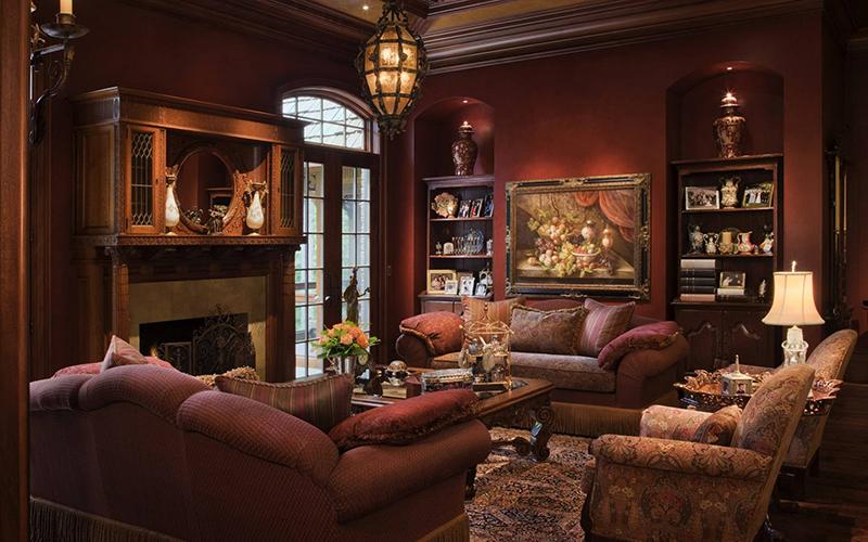 Phòng khách cổ điển biểu tượng của sự sang trọng và đẳng cấp 6