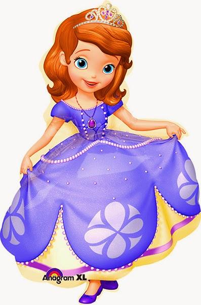 Фольгированные шарик Принцесса София