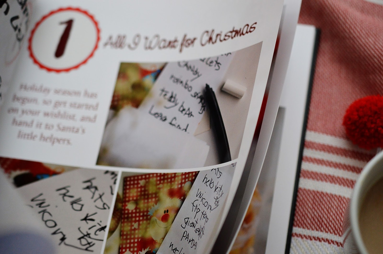 DIY Advent Calendar Photobook | Motte's Blog