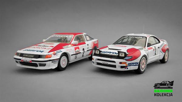 Trofeu Toyota Celica ST165 1990 oraz HPI-Racing Toyota Celica ST185 1992, Rajd Monte-Carlo