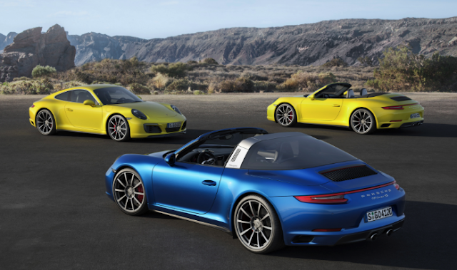 2018 Porsche 911 Carrera 4S Targa PDK Automatic Review