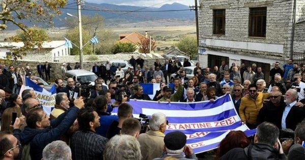 Οι Αλβανοί δεν αφήνουν να αναπαυθεί η ψυχή του  Κ.Κατσίφα: Ψάχνουν στα σπίτια να βρουν την Σημαία του!