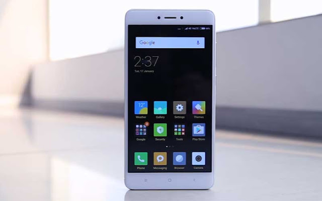 Fastboot Rom Redmi Note 4 Mediatex