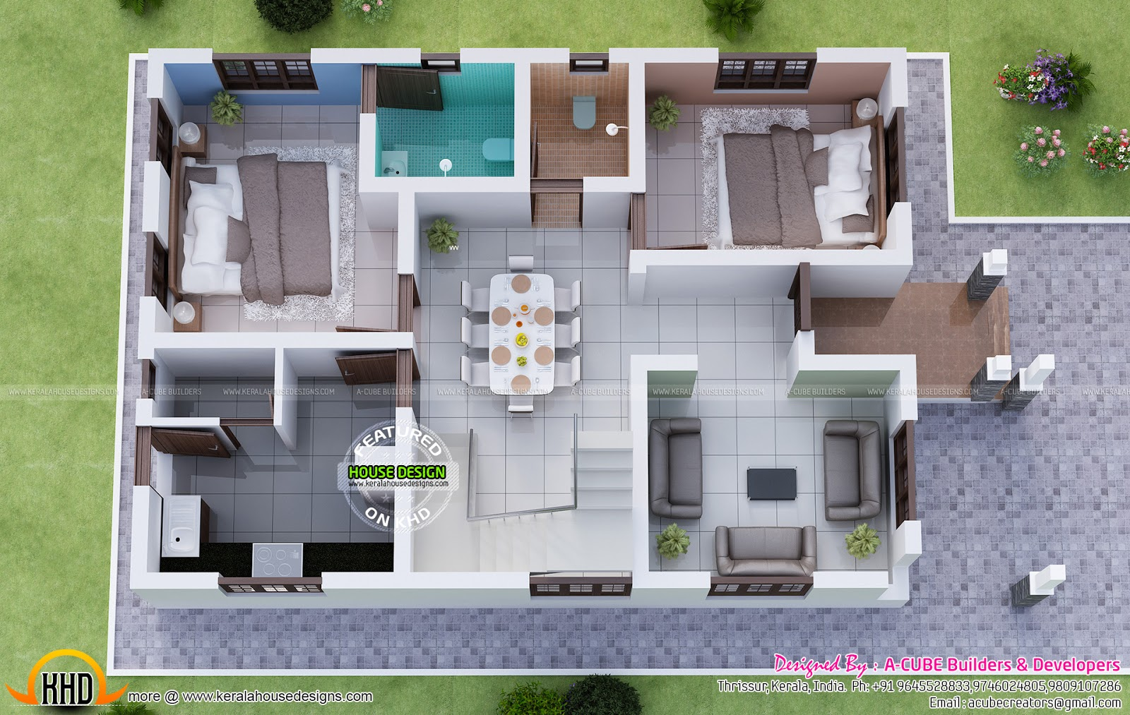 Magnificent Kerala Dream Home With Plan Kerala Home