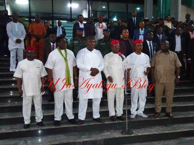 JUST IN: Southeast Governors bans all activities of Indigenous People of Biafra, IPOB in the region