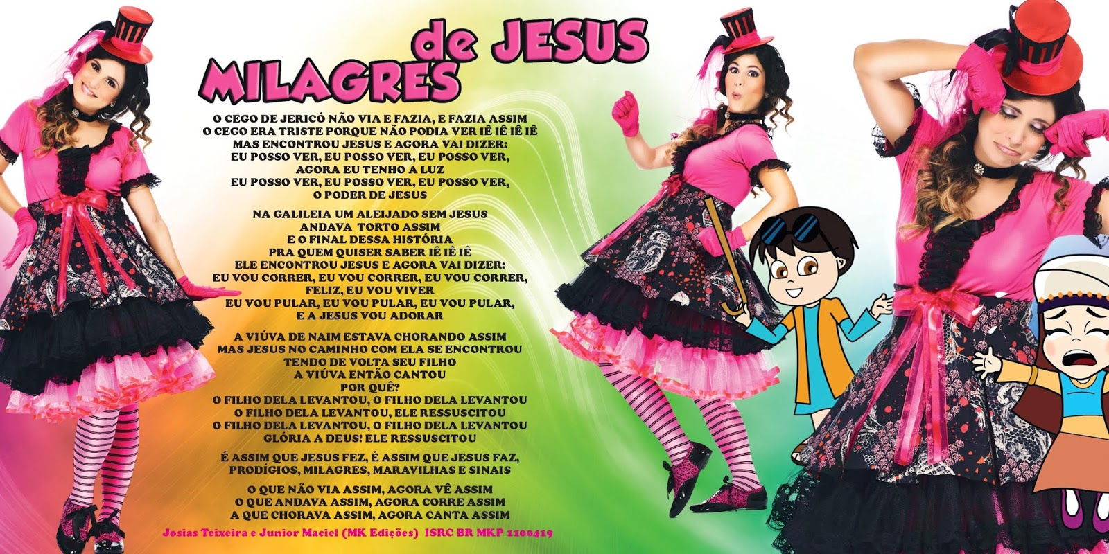 Aline Barros Aline Barros & Cia 2 encarte: aline barros - aline barros & cia 3 (edição digital)