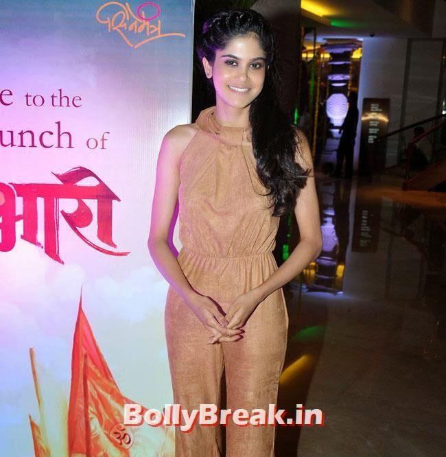 Radhika Apte, Marathi Actresses Pics from Music Launch of Marathi Film Lai Bhari - June 2014