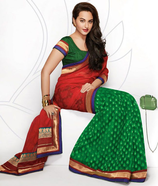 Sonakshi Sinha Hot Photoshoot in Saree