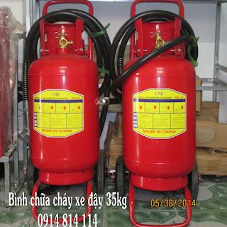 Bình chữa cháy bột ABC 35kg MFZL35