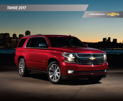 Downloadable 2017 Chevrolet Tahoe Brochure