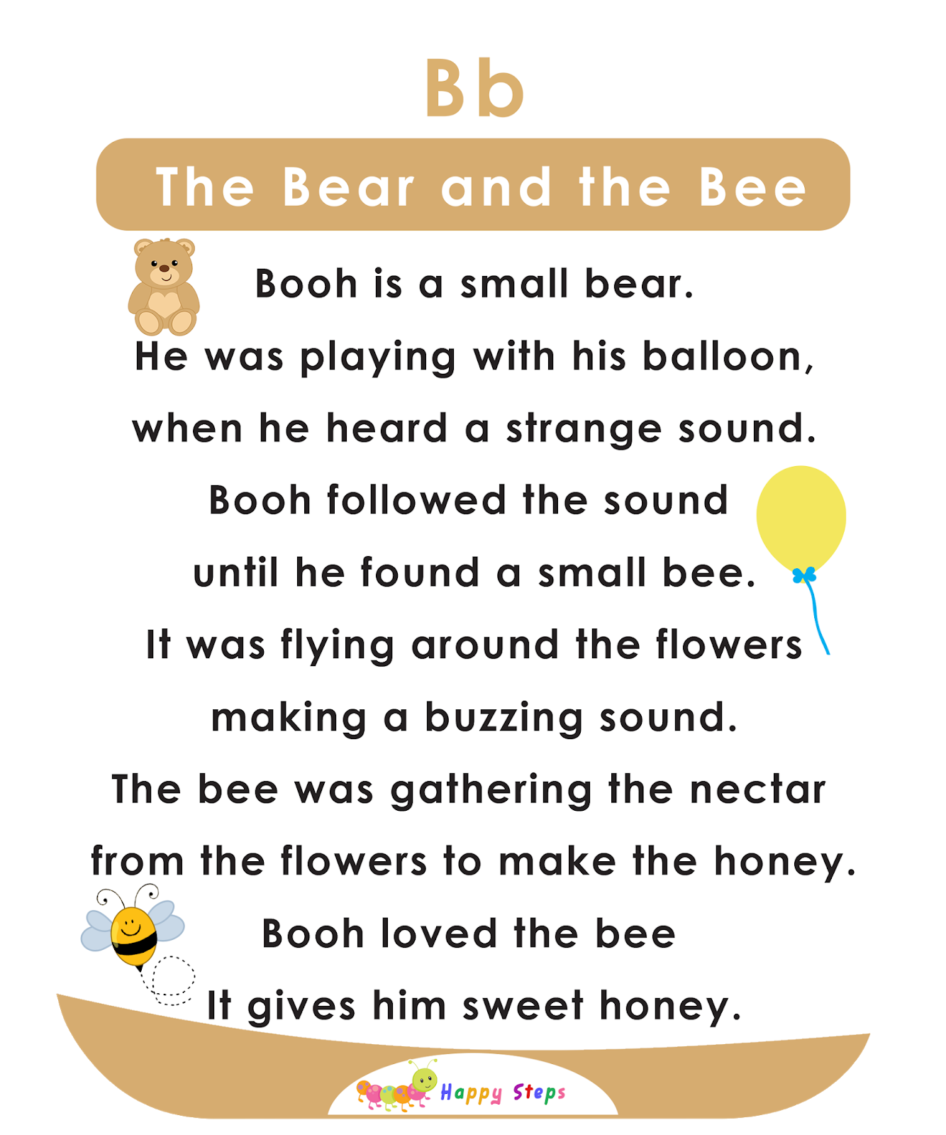 The Bear And The Bee Alphabet Stories