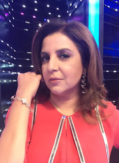 Spotted Farah Khan kunder in Aurelle by Leshna Shah