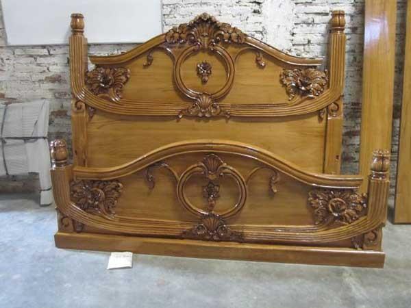 model tempat tidur ukiran bali 2
