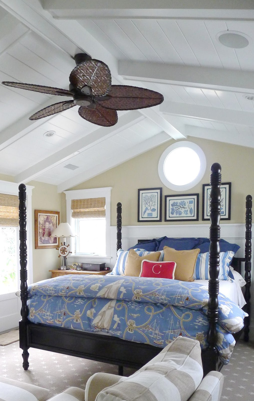 Coastal Bedroom: Ciao! Newport Beach: A Local Home With A Nantucket Vibe
