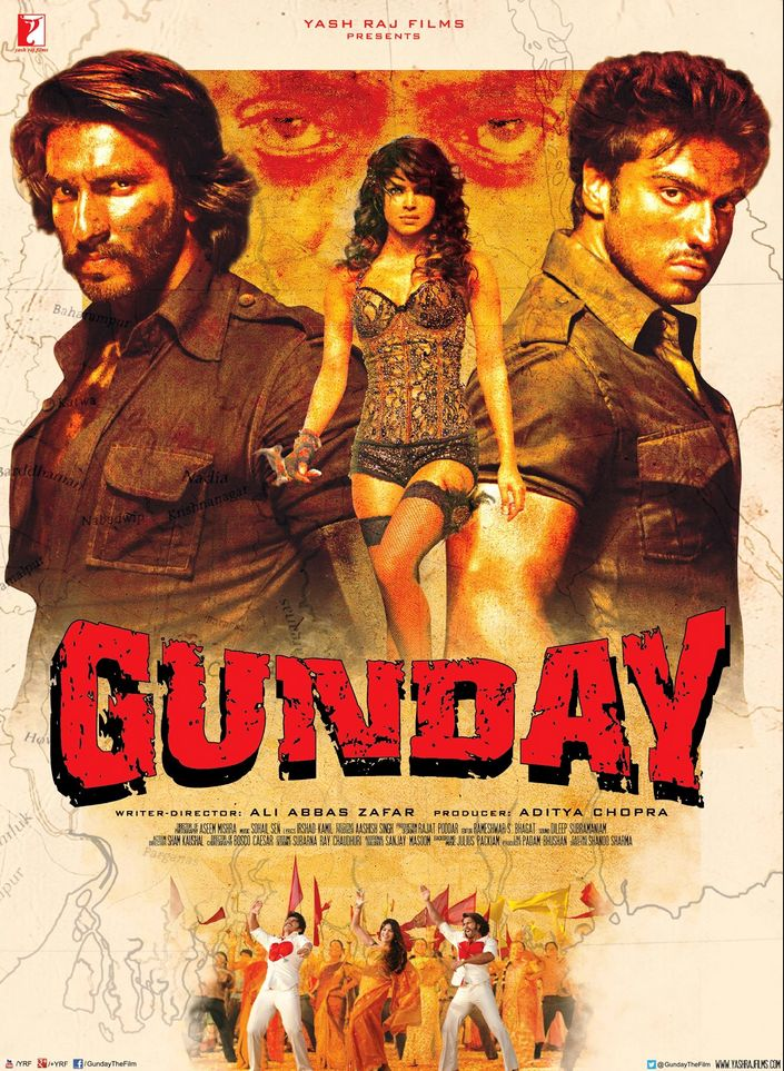 Gunday 2014 Hindi 720p HDRip 961MB Download