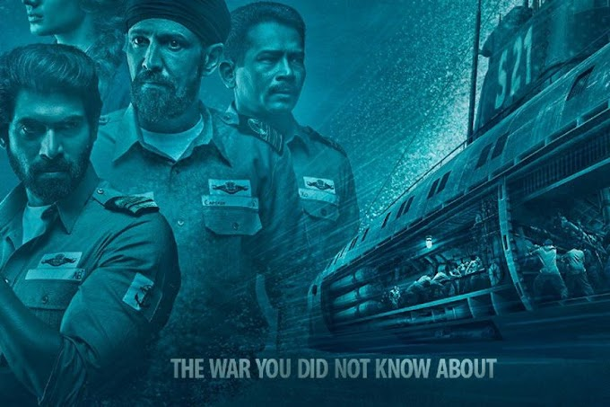 Watch The Ghazi Attack Official Trailer Released   Rana Daggubati & Taapsee Pannu