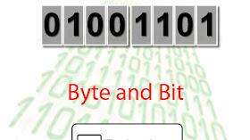 Perbedaan Bit Dengan Byte